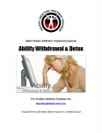 Abilify Withdrawal Abilify Detox