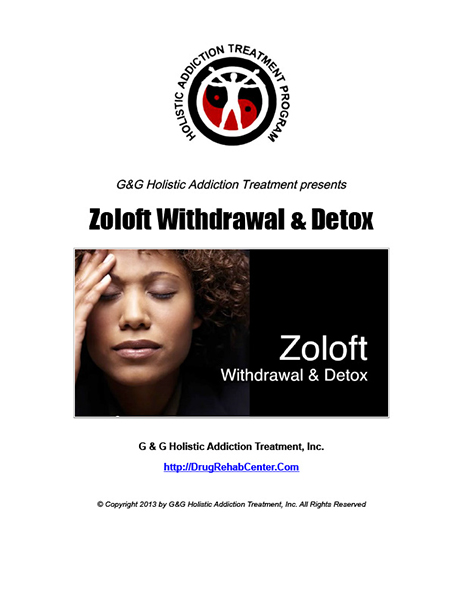 Symptoms of zoloft withdrawal