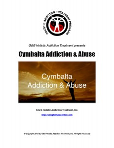 Cymbalta Addiction Abuse