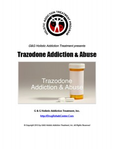 Trazodone Addiction and Trazodone Abuse
