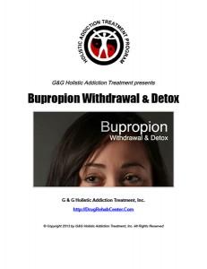 Bupropion Withdrawal and Bupropion Detox