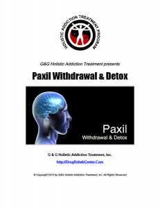 Paxil Withdrawal and Paxil Detox