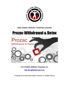 Prozac Withdrawal and Prozac Detox