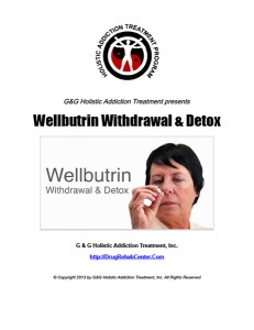 Wellbutrin Withdrawal and Wellbutrin Detox