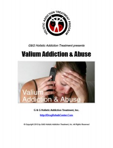 Valium Addiction and Valium Abuse