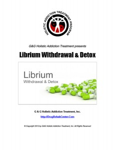 Librium Withdrawal and Librium Detox
