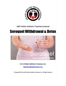 Seroquel Withdrawal and Seroquel Detox