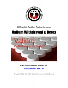 Valium Withdrawal and Valium Detox