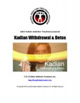 Kadian Withdrawal and Detox