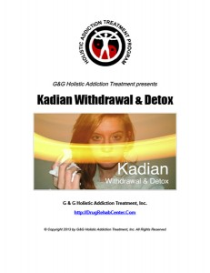 Kadian Withdrawal and Kadian Detox