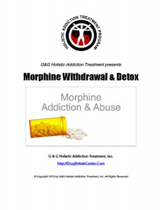 Morphine Withdrawal and Detox