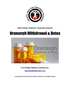 Oramorph Withdrawal and Detox