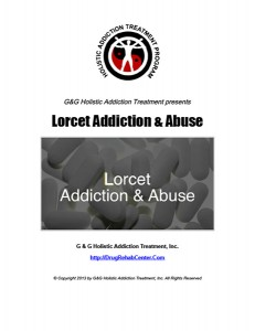 Lorcet Addiction Abuse