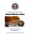 Roxanol Addiction and Abuse