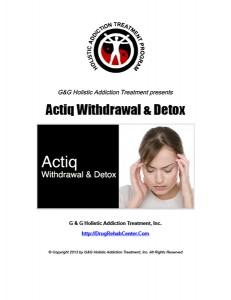 Actiq-Withdrawal-Detox