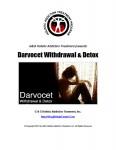 Darvocet Withdrawal and Detox