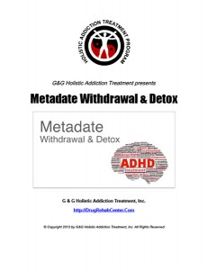 Metadate-Withdrawal-Detox